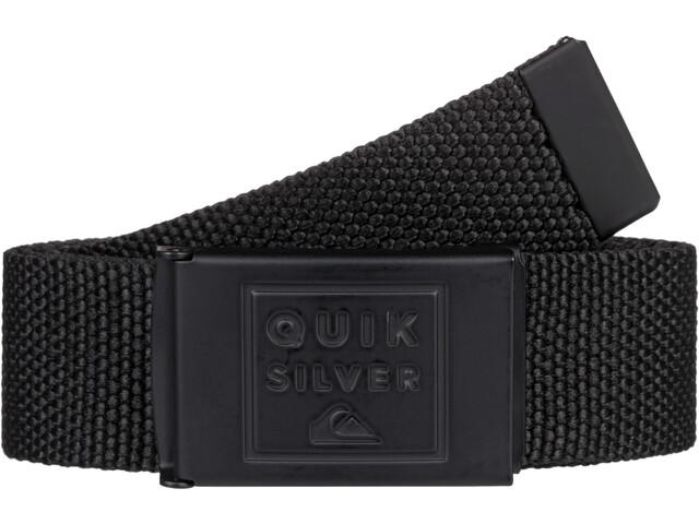 Quiksilver Principle III Cinturón Hombre, negro